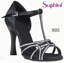 Free Shipping Suphini New Sale Latin Dance Shoes, Woman Flexible Salsa Dance Shoes