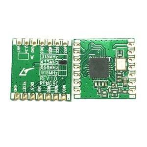 Image 3 - 10pcs RFM69C RFM69CW 433MHZ 868MHZ 915MHZ GFSK Wireless Transceiver Module SX1231 13DBM