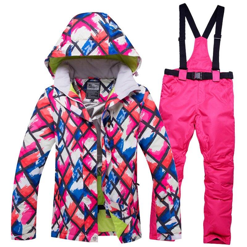 para Homens Jovens Terno de Esqui de Inverno Calças de Neve à Prova de Vento Térmica ao ar Conjuntos de Esqui e Snowboard Jaqueta de Esqui Quente Novas Impermeável Masculino Livre Homens