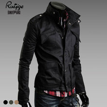 2016 Limited Military Mens Jackets And Coats Veste Homme New Winter Men's Wear Casual Jacket Mens Size Korean Slim Jackets Male