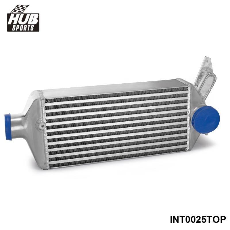 Top-Mount Bolt -On Full Aluminum Racing Turbo Intercooler For Subaru Impreza WRX EJ25 GH GRB GEE 08-14 HU-INT0025TOP