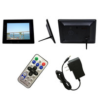 7 cala HD LCD Cyfrowa Ramka na zdjęcia z Slideshow Budzik MP3/4 Gracz Wielofunkcyjny 7-calowy Cyfrowa ramka na zdjęcia 9.27