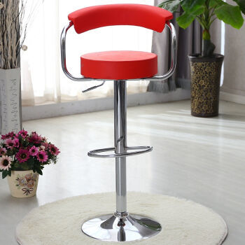 Southeast Asia fashion bar chairs Nordic Furniture Stool Chairs wholesale and retail red color free shipping southeast asia fashion bar stool retail red white black countryside bar pastoral style stool free shipping