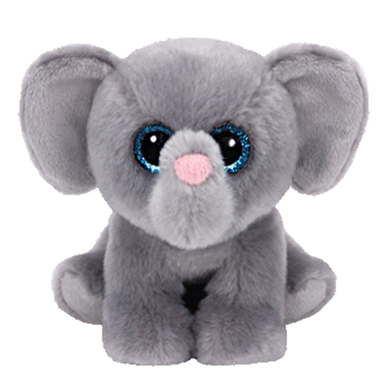 18 см Ty Beanie Боос 6 дюймов гамбургер слон серый 6 шапочка для малышей плюшевые Коллекционная Мягкая кукла игрушка подарок для детей