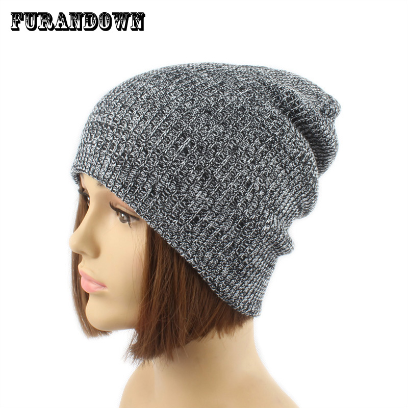 New Winter Women Casual Wool Beanie Hats For Men Ladies Caps Knitted Skullies & Beanies Girls Gorros 2016 new beautiful colorful ball warm winter beanies women caps casual sweet knitted hats for women outdoor travel free shipping