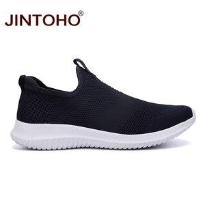 Image 3 - JINTOHO été unisexe baskets chaussures sans lacet chaussures décontractées pour hommes décontracté hommes baskets pas cher mâle baskets mocassins décontractés