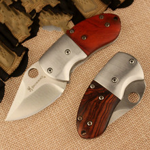 Fast shipping  Browning /high hardness steel folding knife /D2 survival knife