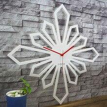 Акриловые большие настенные часы современный дизайн для гостиной простое украшение личности Креативные 3D часы настенные часы домашний декор