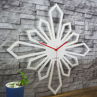 Acrylic Large Wall Clock Modern Design for Living Room Simple Personality Decoration Creative 3D Clocks Wall Watch Home Decor