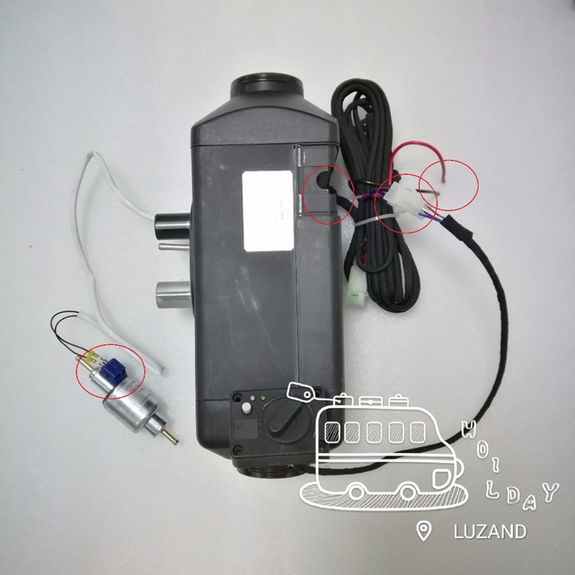 Wonderbaarlijk 2kw 12 V Air Diesel Standkachel Thuis Heater Ventilator Kachel VC-77