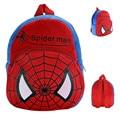 Figuras dos desenhos animados Do Homem Aranha de Pelúcia Mochilas Schoolbag Crianças Homem Aranha Escola Saco Do Presente Do Bebê