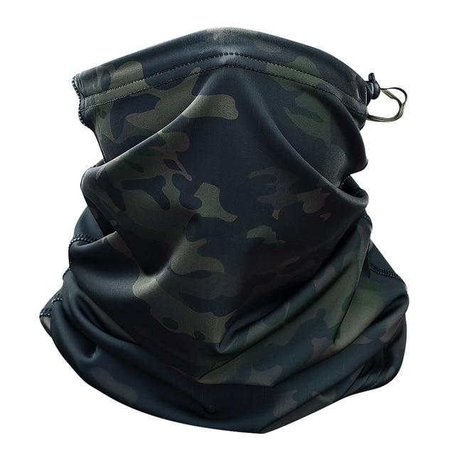 Multicam Camouflage Tactical Neck Gaiter Tube Face Mask Sun Head Military Army Scarf Magic Headband Beanie Wristband Bandana