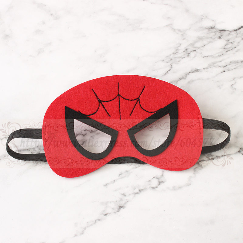 Superhero Costumes Masks Boys Girls birthday party favor decorations halloween costume Dress Up Play