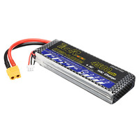 2017 Newest Tiger Power 7.4V 4500mAh 45C 2S Lipo Battery XT60 Plug For RC FPV Racing Drone Quadcopter Spare Parts Accessories
