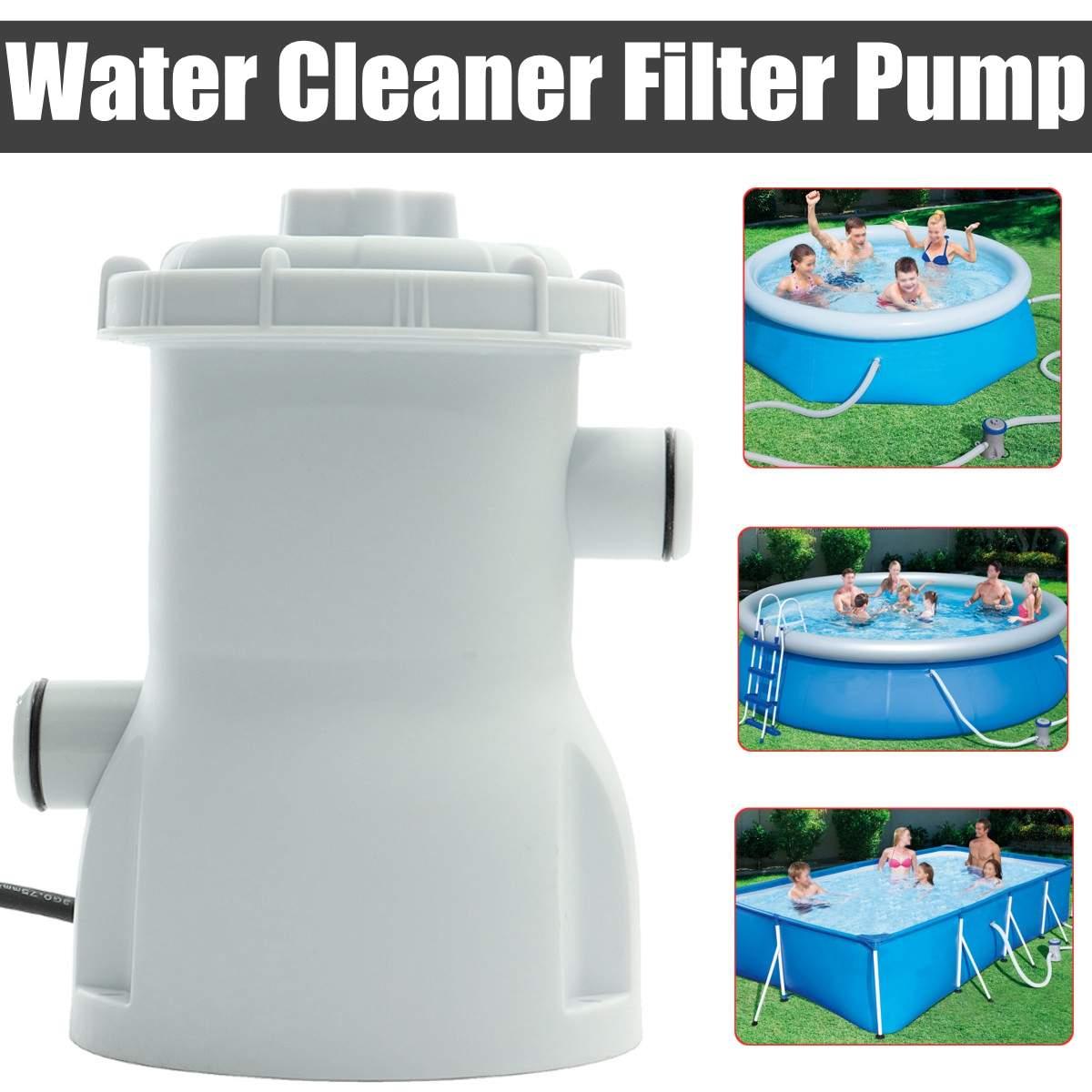 220 V électrique filtre pompe piscine filtre pompe eau propre claire sale piscine étang pompes piscine accessoires