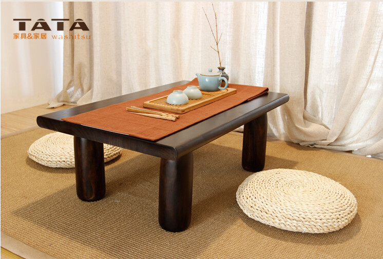 Asian Wood Furniture Chinese Tea Table 120*55cm Living Room Furniture  Oriental Design Low Floor