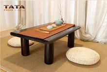 Asian Wood Furniture Chinese Tea Table 120*55cm Living Room Furniture Oriental Design Low Floor Kung Fu Coffee Tea Table Wooden