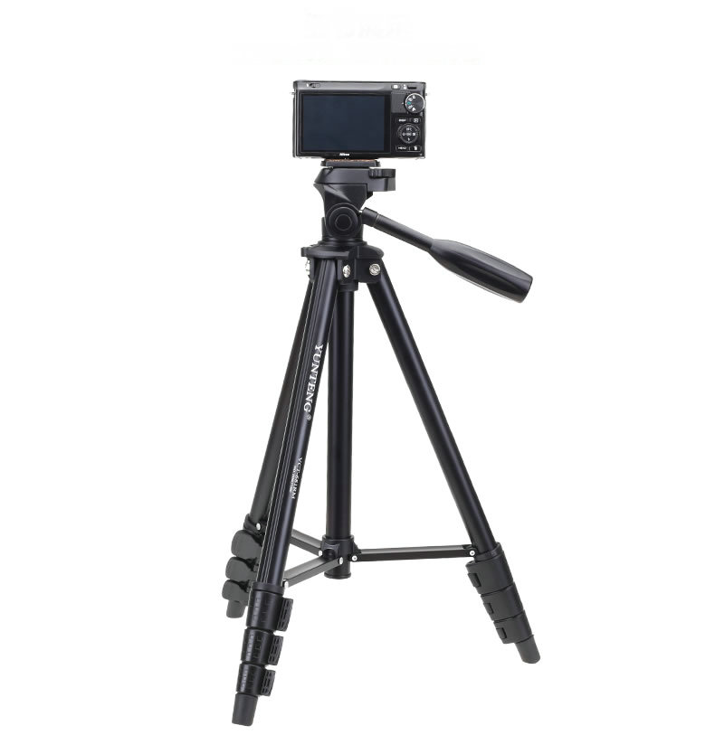 NEW Professional YUNTENG 681 Camera Tripod Portable For Camera Photograph Nikon Sony Canon Samsung Russia Brazil FREE SHIPPING