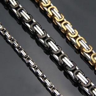2015 Wholesale And Retail Super Coarse Non-mainstream Personality Man Titanium Steel Necklace Macho Crest Boyfriend Gift T011