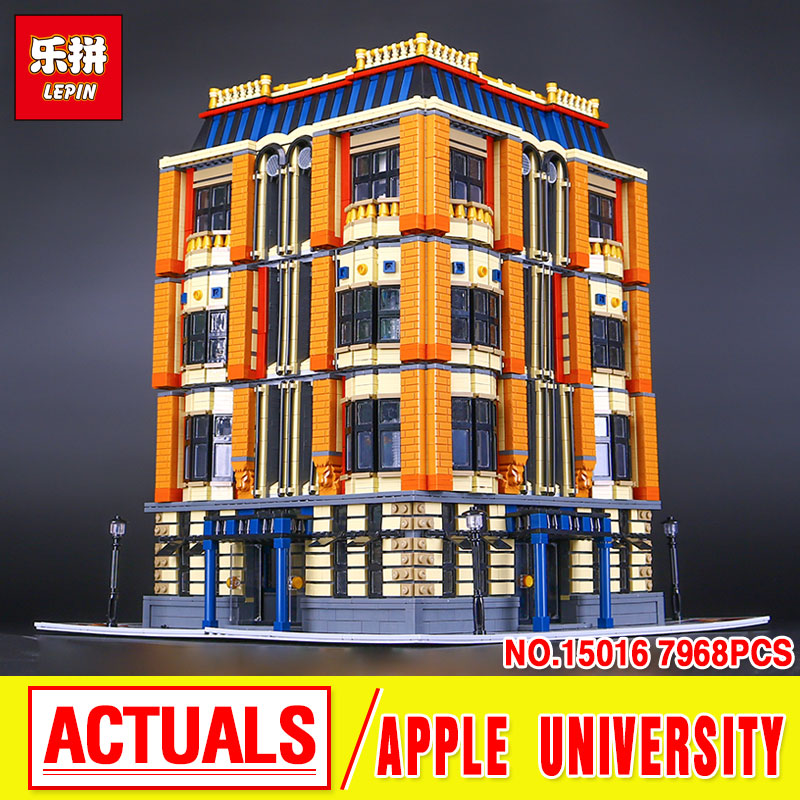 New Lepin 15016 Genuine MOC Creative  The Apple University Set Building Blocks Bricks Education Lovely Funny Toys Gifts 75mmx30mm dc 12v 0 24a 2 pin computer pc sleeve bearing blower cooling fan 7530 r179t drop shipping