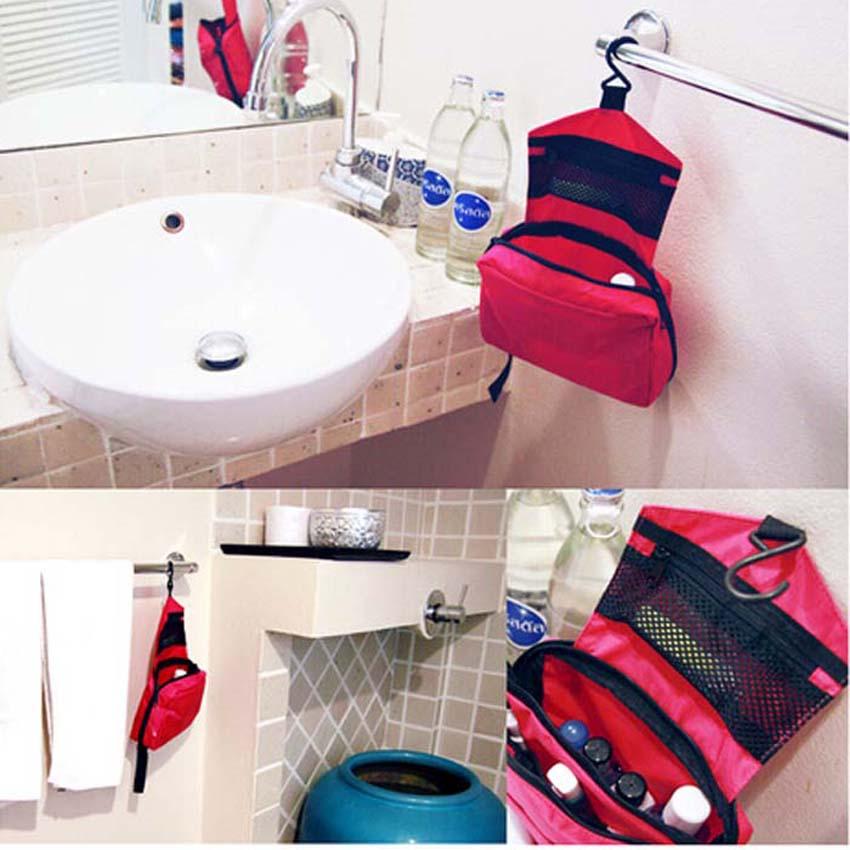 Großhandel Bewegliche Hängende Frauen Kosmetiktasche Wasserdicht Make Up Reiseveranstalter Schönheit Schminktasche 200 Teile/los-in Reisetaschen aus Gepäck & Taschen bei  Gruppe 2