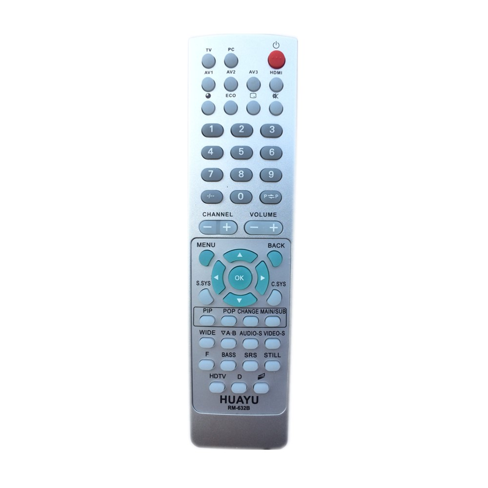 US $10 4 |RM 632B Remote Control For SANYO TV Replace 1AV0U10B31200  1AV0U10B03202 1AVOUI0B05600 1AV0U10B00800 1AVOU10B00900 1AV0U10B01900-in  Remote