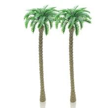 18cm scale model seaside palm trees  Miniature Model Trees For MODEL Landscape Train Railway Park Scenery