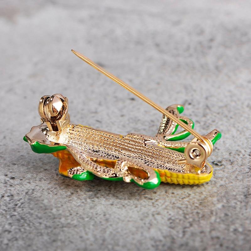 Blucome Νίκαια Κίτρινο καλαμπόκι - Κοσμήματα μόδας - Φωτογραφία 6