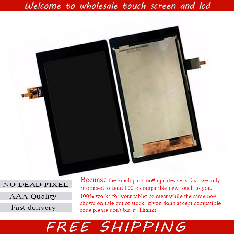 ФОТО For Lenovo YOGA YT3-850M YT3-850F LCD Display With Touch Screen Digitizer Assembly Original Free Shipping With Tracking Number