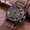 DOOBO Men S Casual Sport Quartz Watch Mens Watches Top Brand Luxury Quartz Watch Leather Military