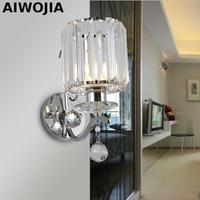 Crystal Wall Light Living Light Applique Murale Luminaire Loft Wall Lights For Home Iron Pipe Lamp Indoor Lighting Lamps