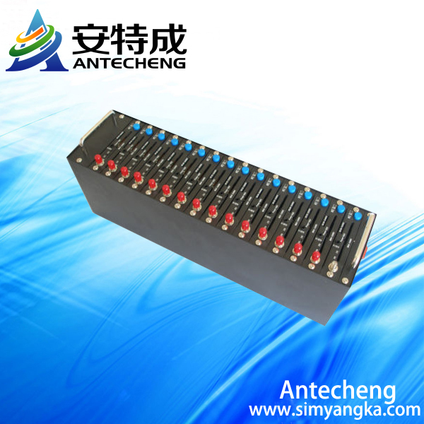 Wholesale GSM Modem Pool 16 Ports Q2406A SMS Modem with IMEI changeable function automatic for Bulk