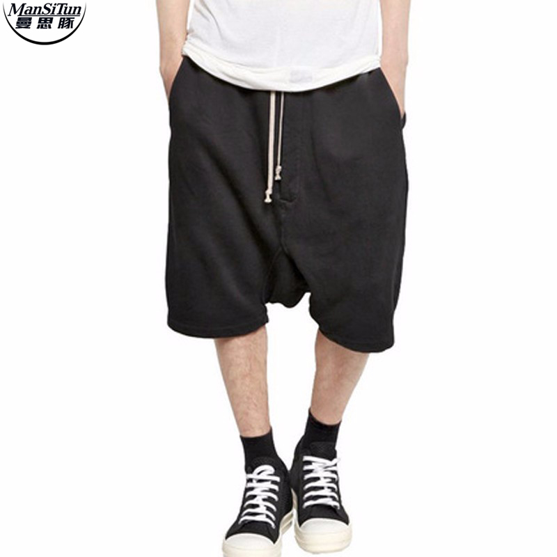 Mens black dress shorts