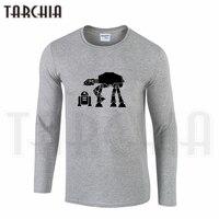 TARCHIIA New Fahion Star Wars Robot Galictic Republic Free Shipping Men S Long Sleeve T Shirt