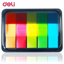 Deli 9060 Post Stickers and Pepsi Fluorescent Film Indicator Classification Дотримуватися Cute Stationery Kawaii Безкоштовна доставка