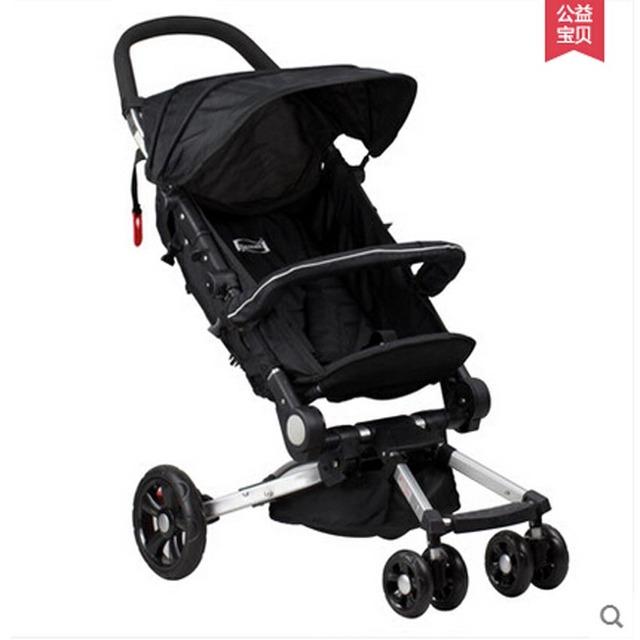 Fácil dobrar carrinho de bebê caixa de pick up em avião, ultra leve guarda-chuva carrinho de bebê com interno shock-proof, 4 cores disponíveis para