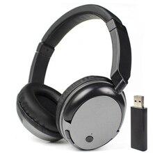 Aaliyah WS-3680 FM беспроводные наушники стерео сабвуфер RF приемник с USB передатчик Компьютер ТВ гарнитура для ios xiaomi