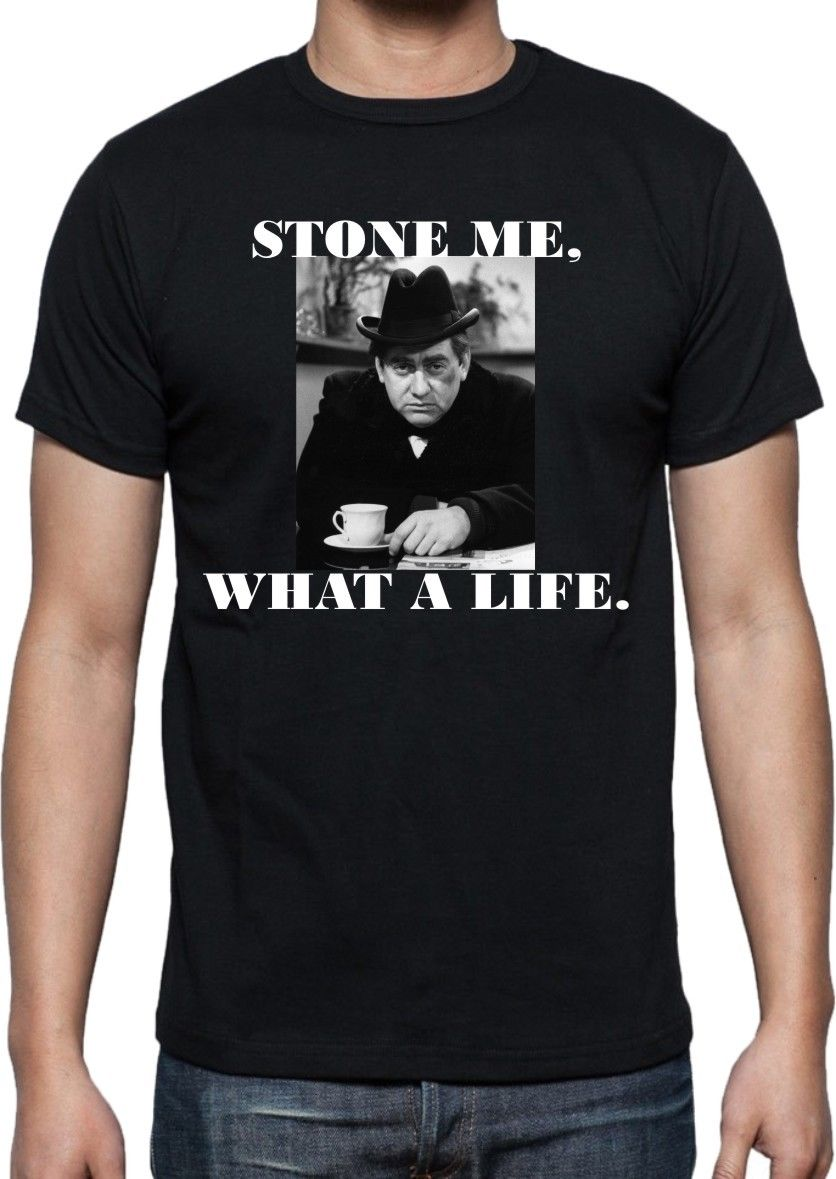 427d2093 2017 New Arrivals Tony Hancock T Shirt 'Stone Me What A Life' All 3D Print  Men's Tee Shirt 100% Cotton Short Sleeve Tees-in T-Shirts from Men's  Clothing on ...