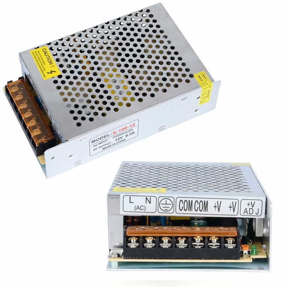 Бесплатная доставка 12V80W100W120W150W импульсный источник питания 12 v блок питания 12 v источник питания led