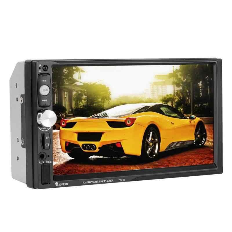 """2 Din 7023B samochodów odtwarzacze multimedialne 7 """"ekran dotykowy radio samochodowe 2din Stereo radio samochodowe wsparcie kamera cofania Mirrorlink z systemem Android"""