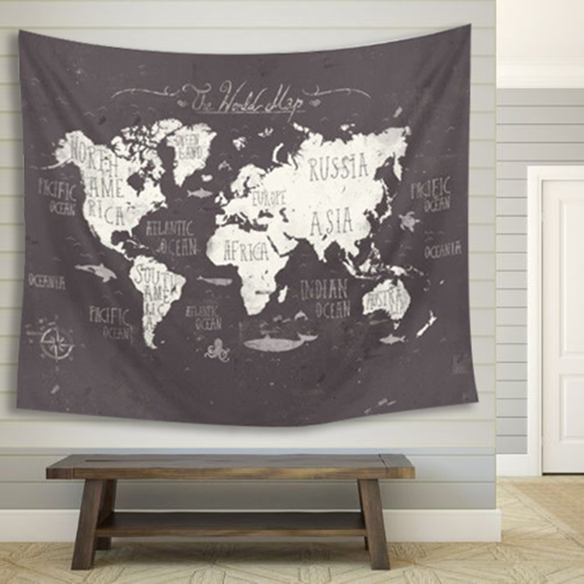 World map indian mandala wall hanging tapestry 150x130cm yoga mat world map indian mandala wall hanging tapestry 150x130cm yoga mat throw blanket cloth home living room art wall decor mural in tapestry from home garden gumiabroncs Gallery