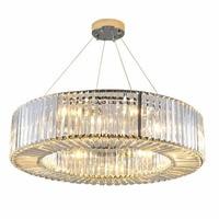 Luxury Modern Crystal Chandelier Round Living Room Crystal Chandeliers Dining Room bedroom light Fixtures