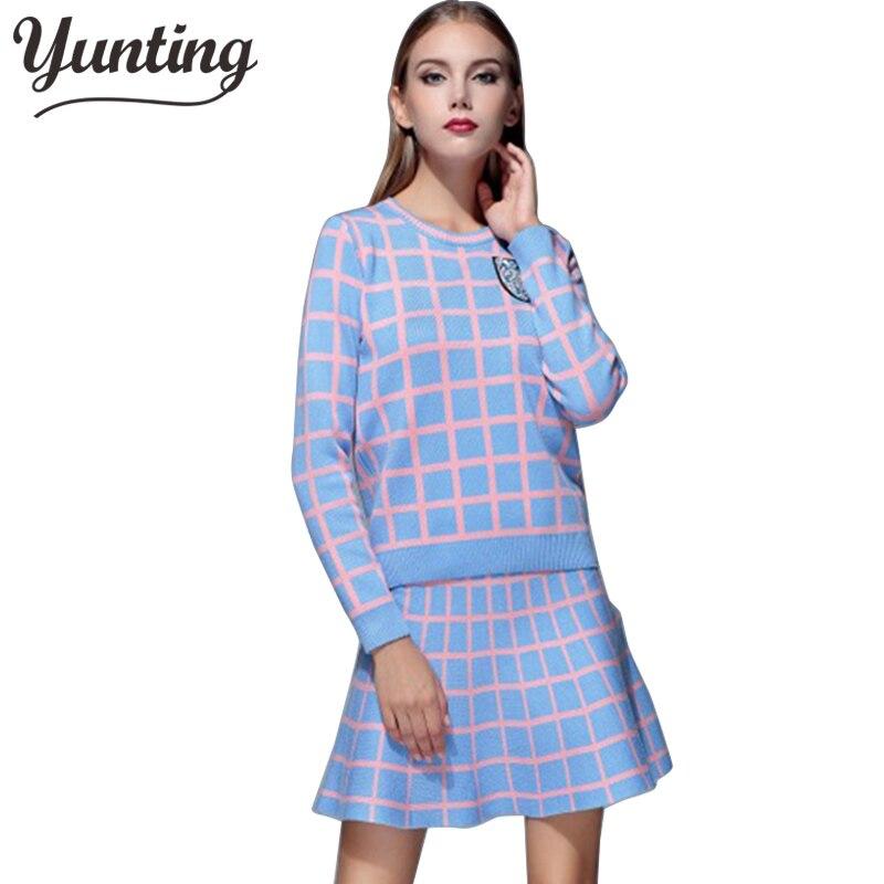 8e41659442 ̿̿̿(•̪ )Nowy 2019 wiosna jesień kobiety odzież Set