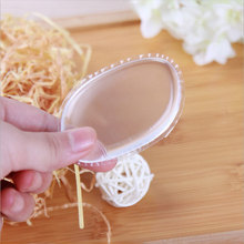 NEW ARRIVAL 10pcs Set Makeup Cosmetic Puff Jelly Powder Puff Silicone Gel Sponge for Cosmetic Foundation BB Cream Makeup Tool