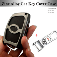 1pcs Gray 3D Metal Car Key Case Chains Key Bag Covers Key Case For Hyundai Ix35