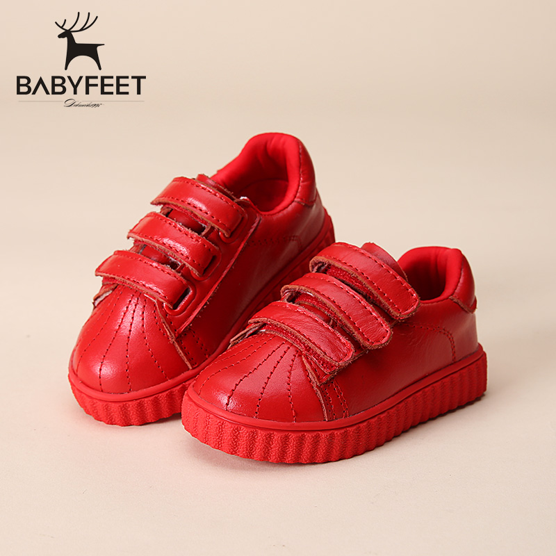 2017 Babyfeet Microfiber PU leather sport running school tenis girl infant flat boy sneakers lazy children shoes fashion loafers babyfeet newborn baby boy shoes toddler sandals leather non slip kids shoes 0 1 years old boy girl children infant infantile