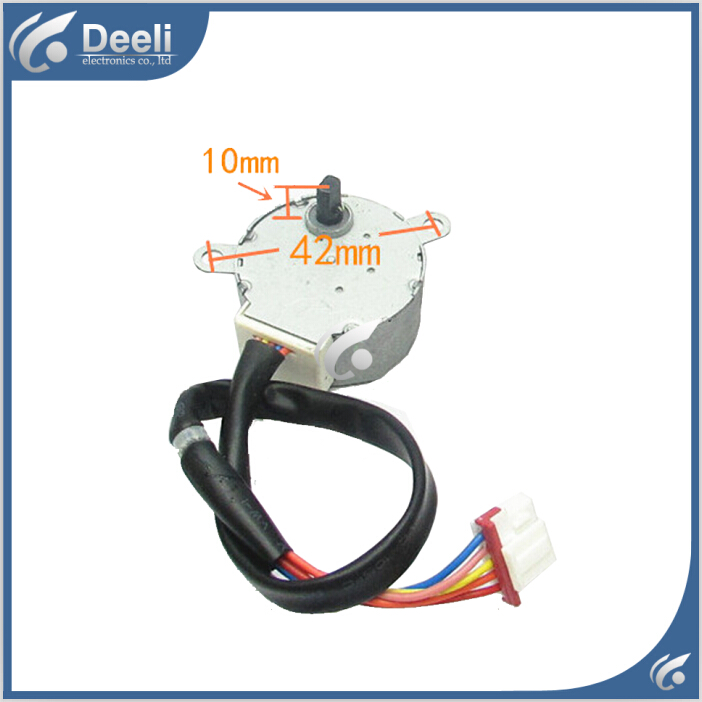 new good working for Air conditioner Stepper Motor step MP35XX 35BYJ46 12v 5 Wire Stepper Motor