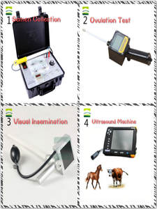 Ultrasound Visual-Insemination Pig-Semen SHEEP VET Uterus Collection-Ovulation Fetal