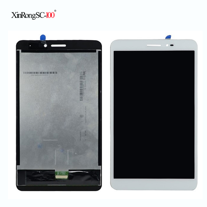 For Huawei Honor tablet T2-8 pro White Touch Screen Digitizer Sensor + LCD Display Panel srjtek 8 inch lcd for huawei tablet t1 821l lcd display digitizer sensor replacement lcd screen 100% tested