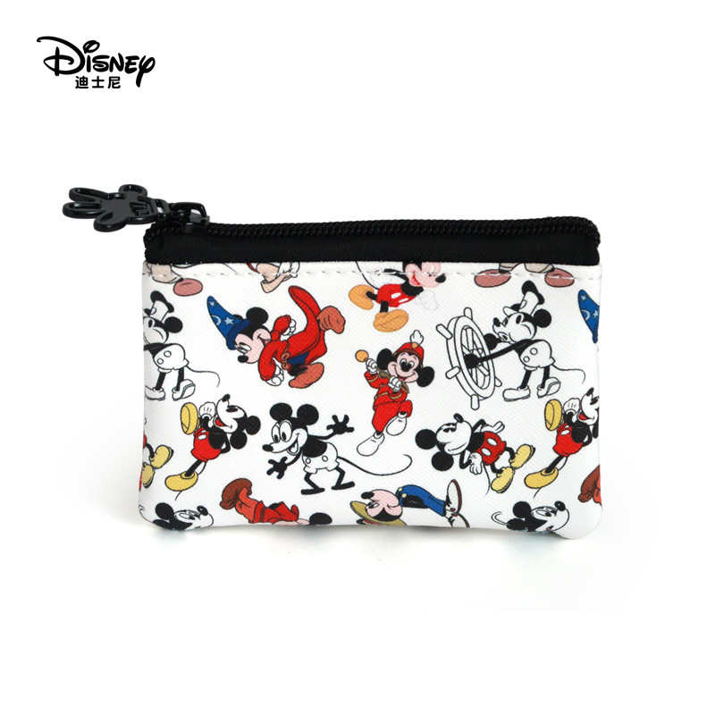 Genuine Disney Commemorative Mickey Coin Purses  Multi-function Women Bags Wallet Bags Fashion Mommy Bags For Girls Gifts